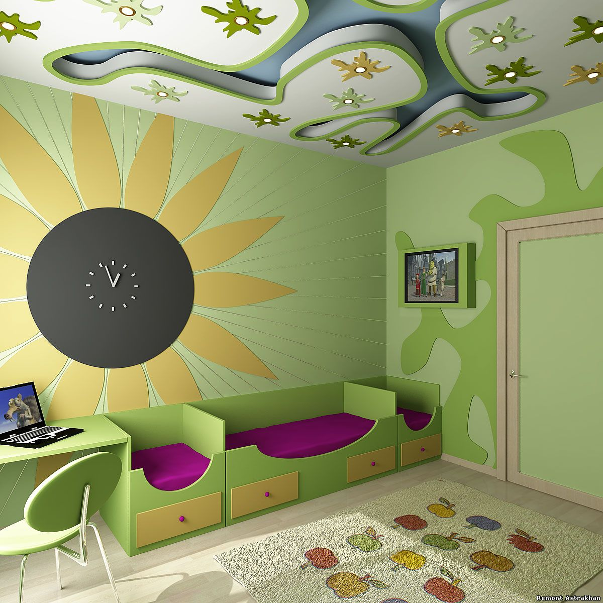 Детские комнаты 75